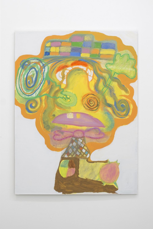 Rafael Delacruz Dizzy, 2016 Acrylic and oil pastel on canvas