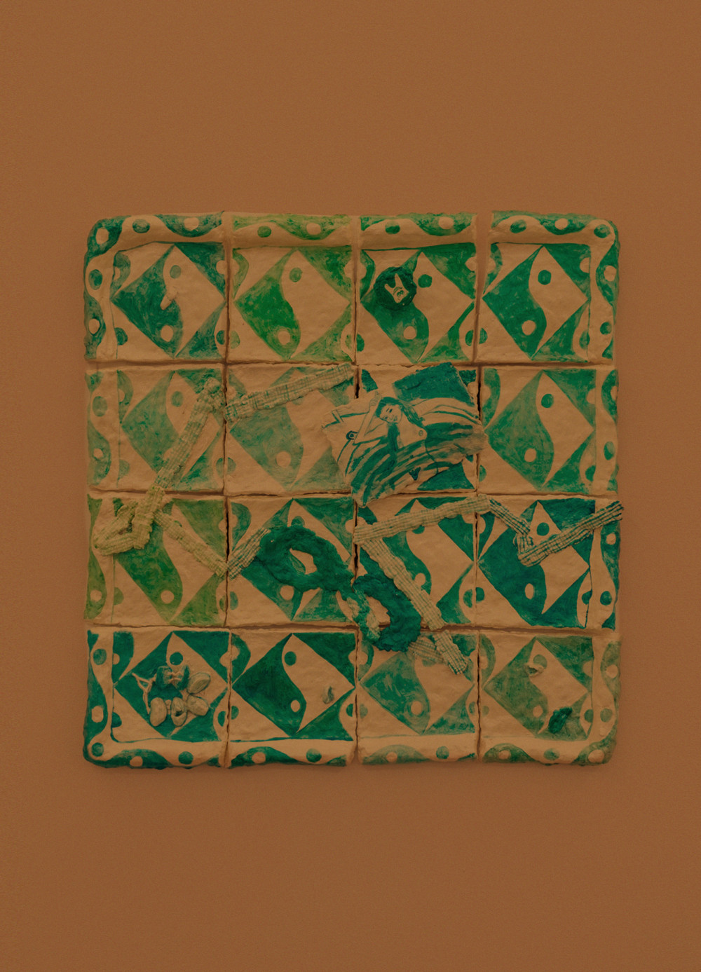 Elizabeth Englander Jeff, 2014 Papier-mâché and acrylic paint