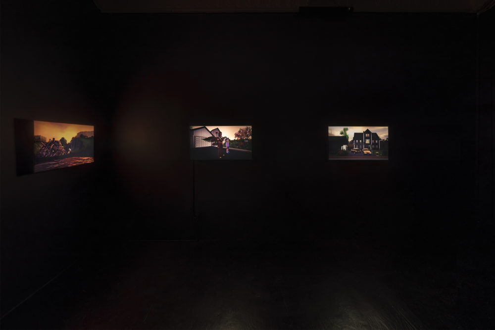 Jacky Connolly Shadows On The Hudson, 2016 Installation view