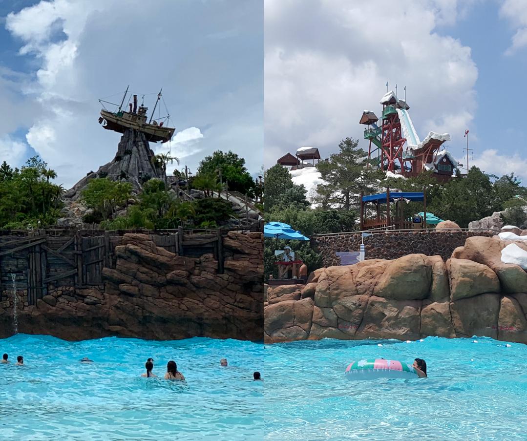Typhoon Lagoon vs. Blizzard Beach