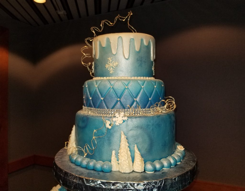 Cake from the Frozen Ever After Dessert Party