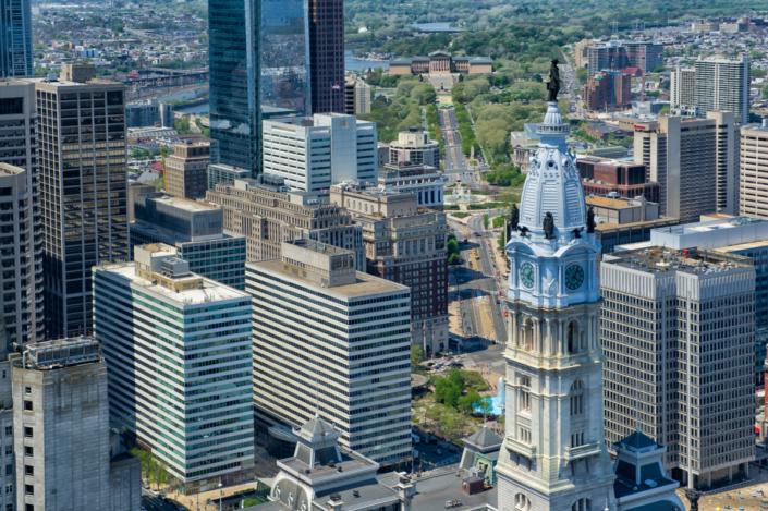 Philadelphia architectural photography, Philadelphia, Photographer, Michael Albany, aerial