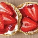 strawberry and goat cheese