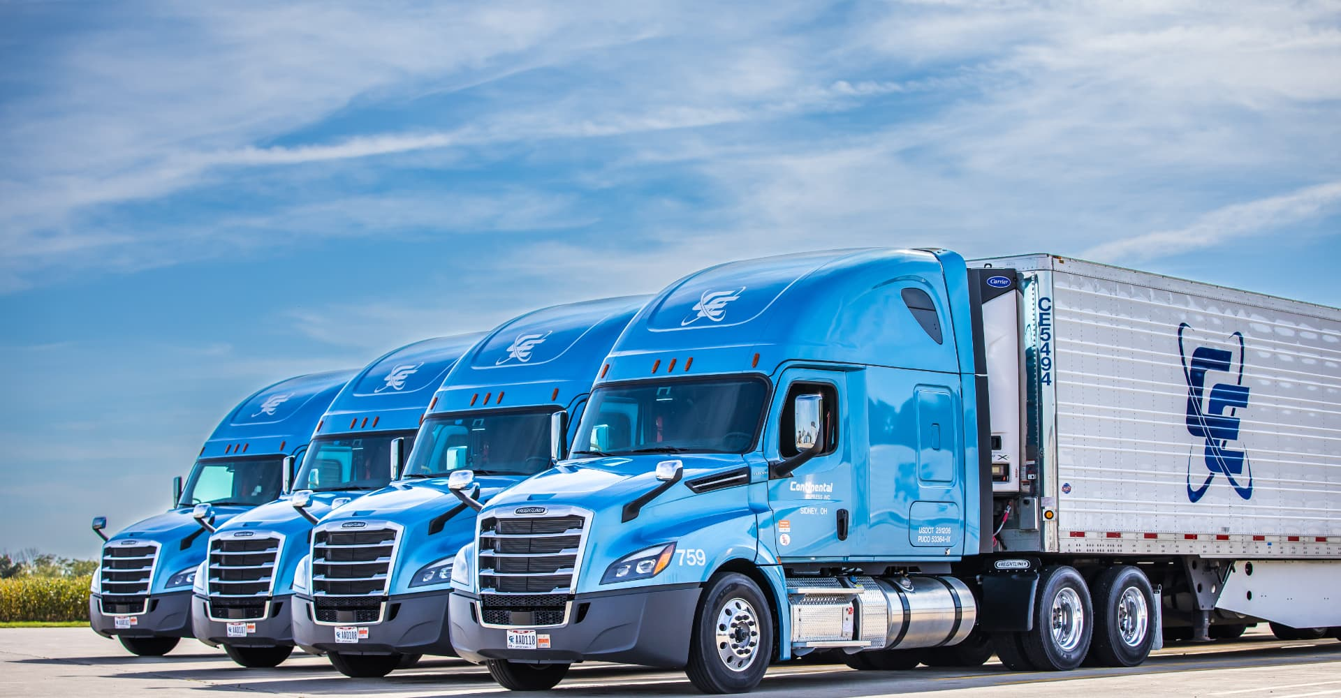 Continental Express truck fleet