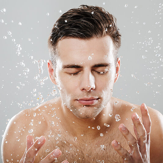 mens spa wash face spring houston the woodlands