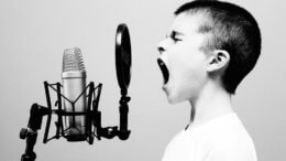 A good microphone and pop screen is essential for recording voiceover commercials