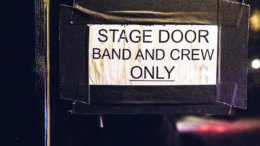 The Backstage Jobs are behind this door