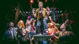 Cast of Fox production of Rent