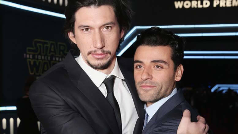 "Oscar Isaac & Adam Driver: How the Two Stars of ""Star Wars"" Are Changing the Face of Hollywood"