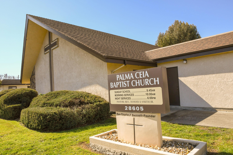 Bennett Hall, the first Palma Ceia Church sanctuary