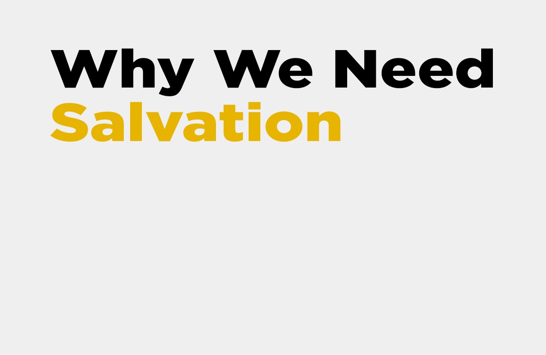 We We Need Salvation - Pastor Tommy Smith Sermon