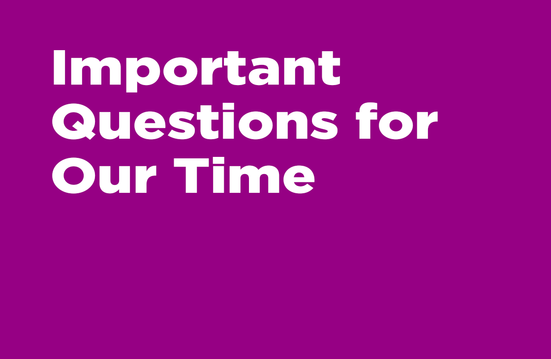 Important Questions For Our Time - Pastor Tommy Smith Sermon