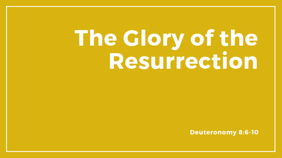 The Glory Of The Resurrection