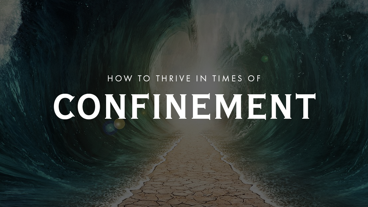 How To Thrive In Times Of Confinement