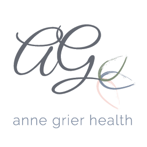 Anne Grier, Nutrition, Health and Life Coach Logo