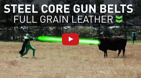 How Alien Gear Leather Gun Belts are Made