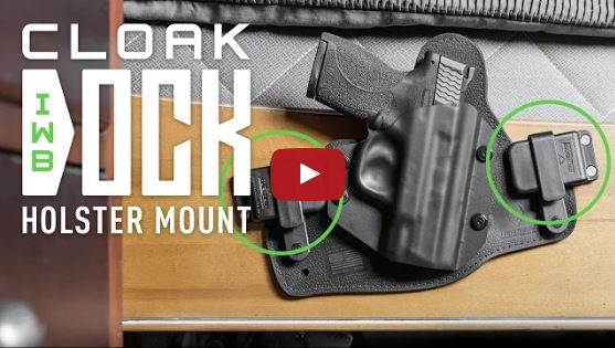 Alien Gear Cloak Dock IWB Holster Mount