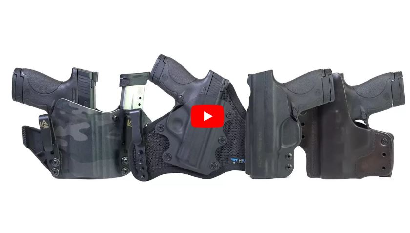IWB Holsters - Hilux Tactical, Wright Leather Works, Galco Gunleather, LAS Concealment