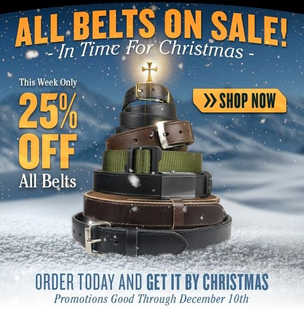 CrossBreed Gun Belts on Sale