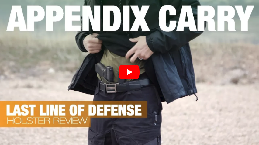 Last Line of Defense Appendix Carry Kydex Holster