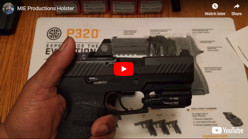Holster Review - MIE Productions Light Bearing OWB Holster
