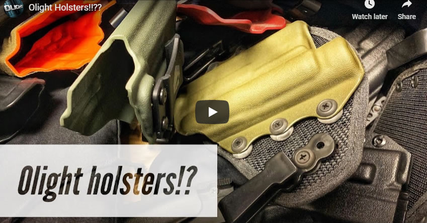 Holster Options for OLight Equipped Pistols