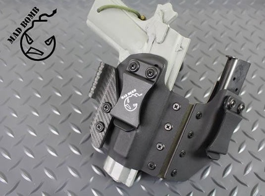 Mad Bomb Holsters Semtex AIWB Rig for 1911 Classic
