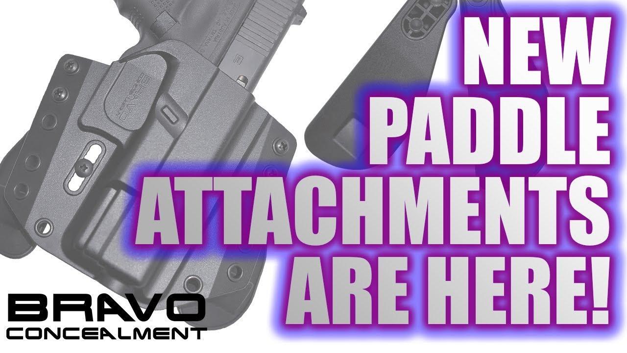 Bravo Concealment Paddle Attachments