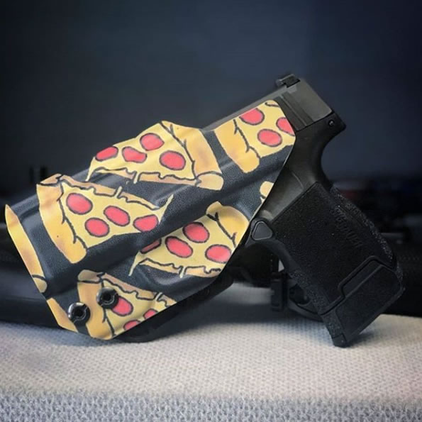 LittleGat Sig P365 Holster in Pizza Kydex