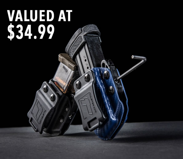 Free Mag Carrier with Holster Purchase