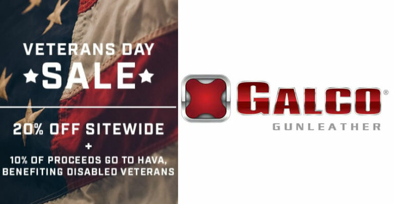 Galco Gunleather Veterans Day Sale