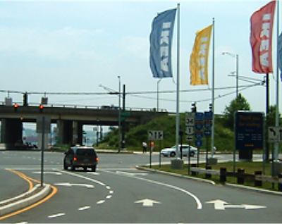 Reconstruction of I-95 Northbound in the Long Wharf Area, New Haven, CT 92-649