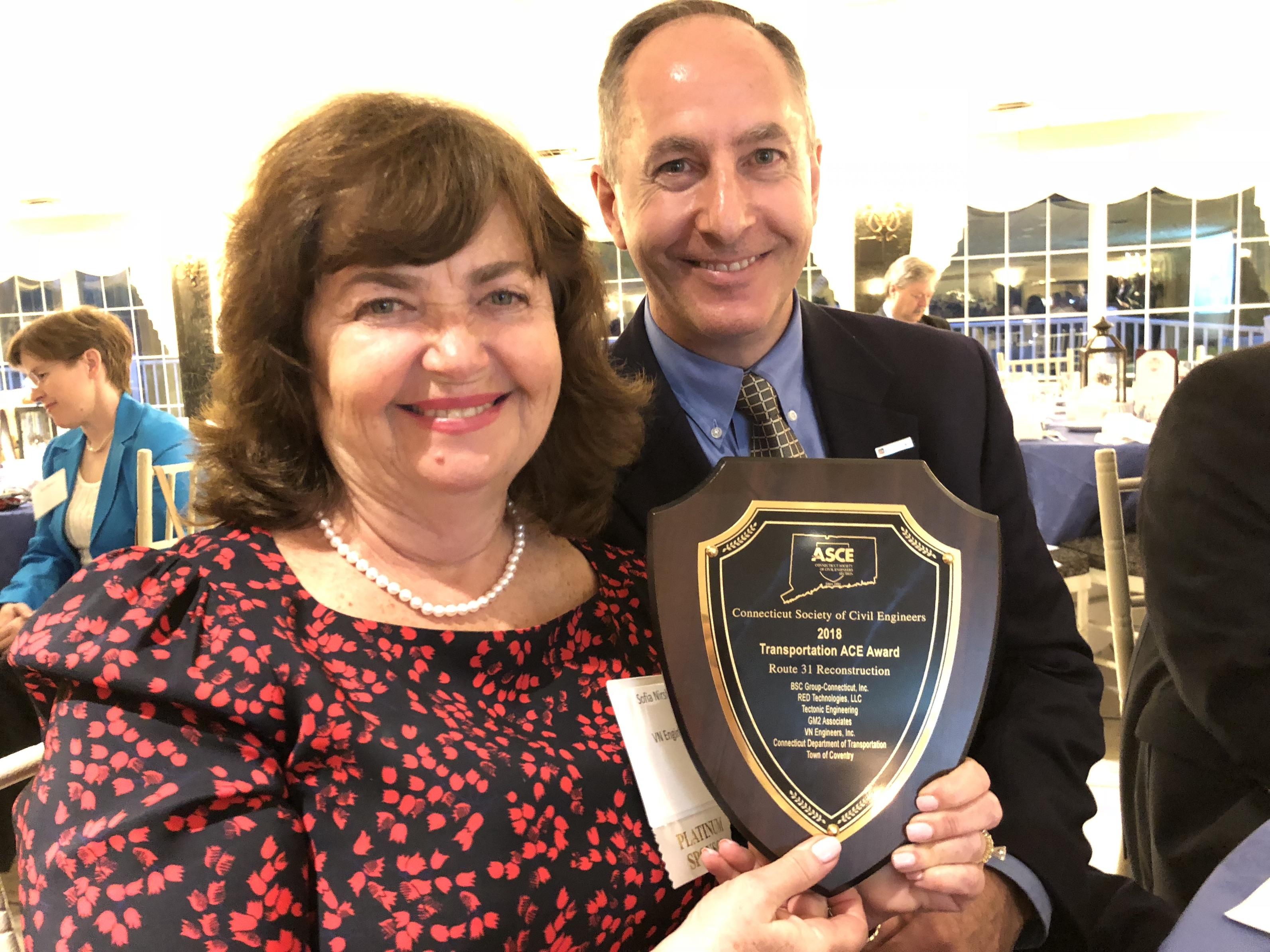 VN Engineers Awarded 2018 ASCE Transportation Award