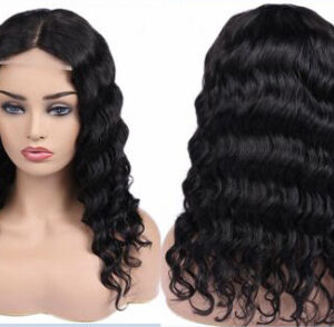 Lace closure wig