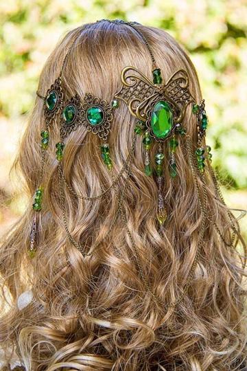 Wedding Hair for St Patricks Day