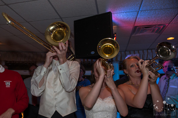 Marching Band Alumni Wedding