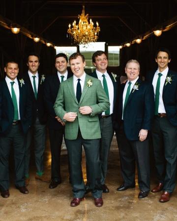 St Patricks Day Groomsmen