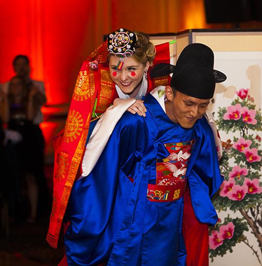 Paebaek Ceremony at Wedding