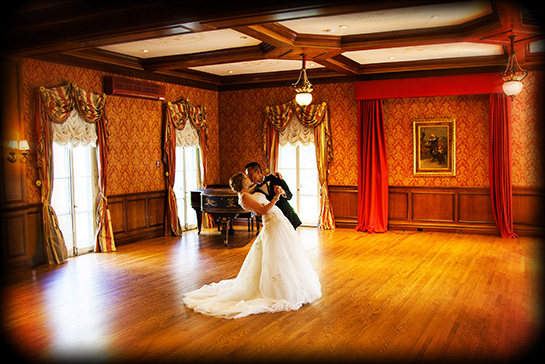 Bride Groom Ballroom Dancing