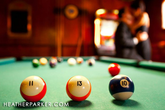 Pool Table Save the Date