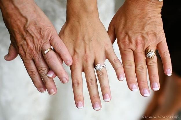 Generations Womens Hands