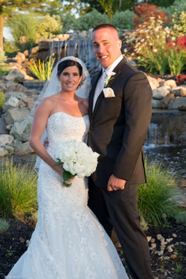 Bride and Groom - New England Wedding