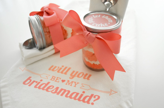 Cupcake - Will you be my bridesmaid