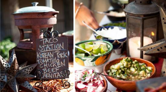Taco station at Wedding