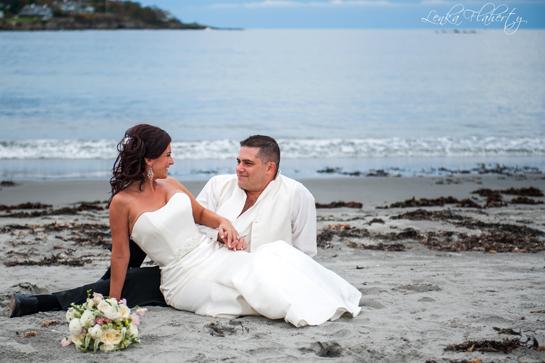 Beach Wedding in Maine