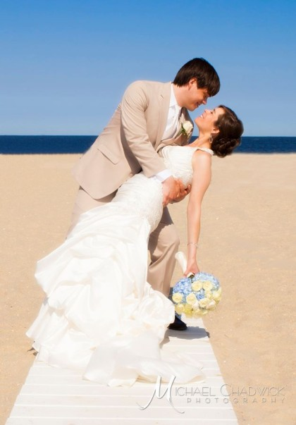 Wedding Kiss Jersey Shore