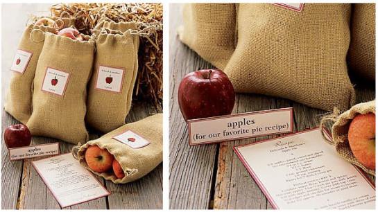 Fruit Wedding Favors