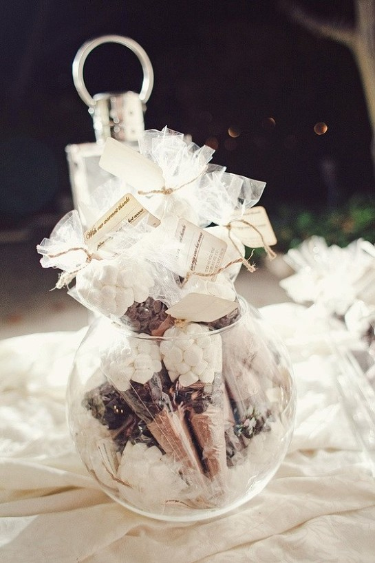 Smore wedding favors