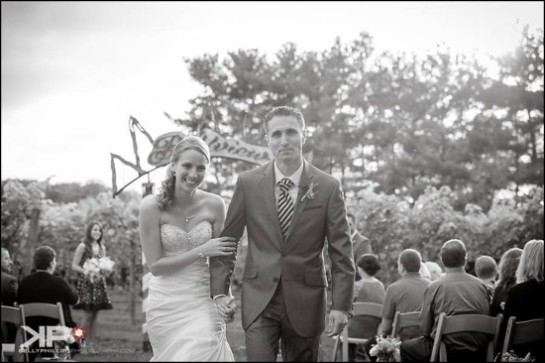 Wedding Ceremony Vineyard Wedding