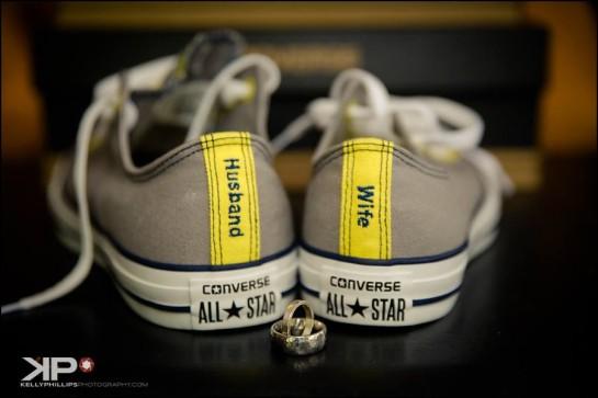 Converse Wedding Sneakers